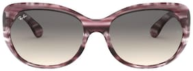Ray-Ban 0RB4325 Square Sunglasses for Women