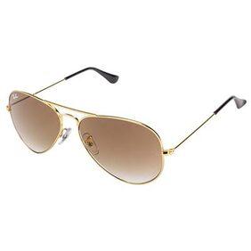 Ray-Ban Orb3025 001/51 Size 58 Medium Aviators Sunglasses