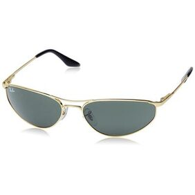 Ray-Ban Orb3131 001 Size 59 Medium Oval Sunglasses