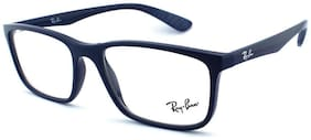 Ray-Ban Blue Wayfarer Full Rim Eyeglasses for Men