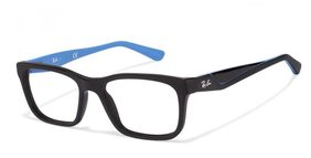 Ray-Ban Rx5346 5505 Matte Black Sky Blue Eyeglasses