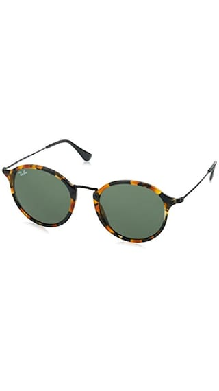 Ray-Ban UV Protected Round Men s Sunglasses - (0RB2447115752 51 Green lens 16d84281124f