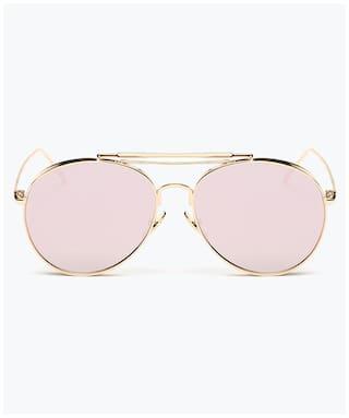 RazMaz Women Round Sunglasses