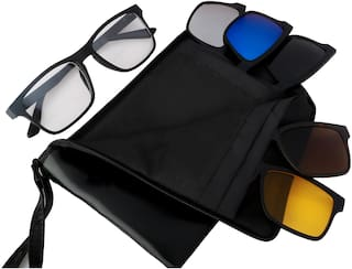 d6146153fc Buy REACTR- Polarised 5-in-1 Magnetic Clip on Sunglasses Plus Frame ...