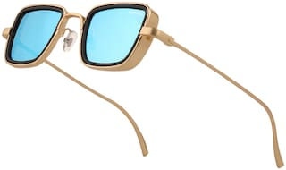 Royal Son UV Protected Blue Mirrored  Sunglasses For Men