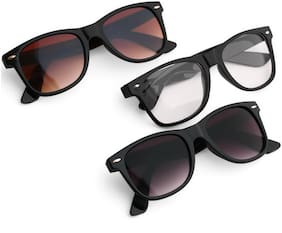 Royal Son Regular lens Wayfarer Sunglasses for Women