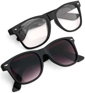 Royal Son Regular lens Wayfarer Sunglasses for Women