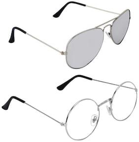 ROYALMEDE Unisex Aviators & Round Sunglasses