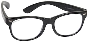 ROZIOR Black Wayfarer Eyeglasses for Kid's