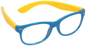 ROZIOR Yellow Wayfarer Eyeglasses for Kid's