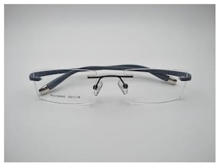 5acbf69832a RSINCPU Stylish Retro Classic Unisex Rim Less Eyeglass-50-18-138 From India