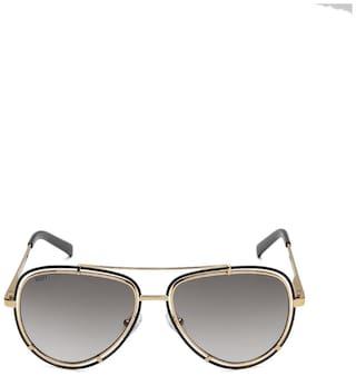 Scott Unisex UV Protected Grey Aviators Sunglasses Medium