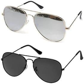 SHADZ Regular lens Aviator Sunglasses for Men , 2