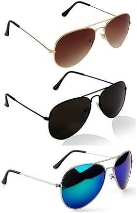 SHADZ Men Aviators Sunglasses