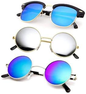SHADZ Regular lens Wayfarer Sunglasses for Men , 3