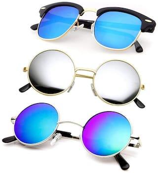 SHADZ Men Wayfarers Sunglasses