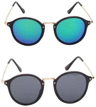 Shadz panto combo pack of 2 sunglasses
