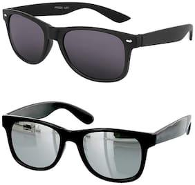 SHADZ Regular lens Wayfarer Sunglasses for Men , 2