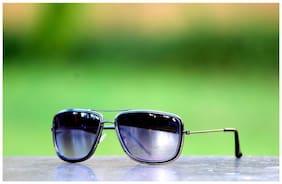 Xforia Polarized lens Square Frame Sunglasses for Women