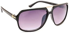 Stacle Eye Pack UV Protected Rectangular Unisex Sunglasses (Black Frame) (ST1...