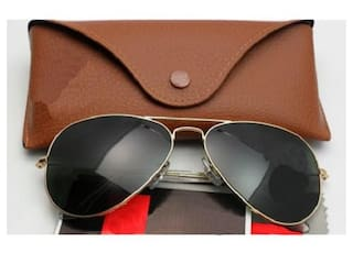 a31c88639d651 Summer Special American Edition Fancy tready Aviator Black Glass Gold 3026  Stylish sunglasses for men women