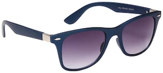 Ted Smith Blue Wayfarers Sunglasses
