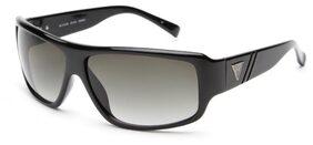 Guess  6556 BLK-35 Size 63-13-125 Black Square Sunglasses