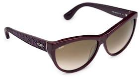 Tod's 100% UV Protected Cat-eye Women Sunglasses -