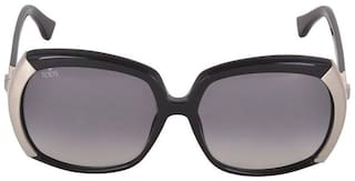 Tod'S Black Oversized Sunglasses ( TO 57 01B|59 )