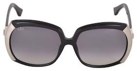 Tod'S Black Oversized Sunglasses ( TO 57 01B|59 )