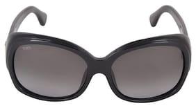 Tod's Black Oversized Sunglasses