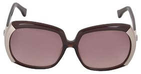 Tod's Brown Oversized Sunglasses