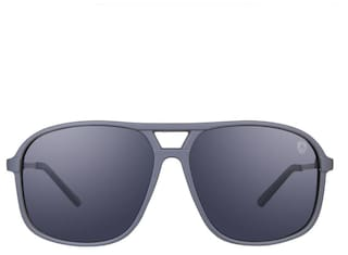 2355b073da Tom Martin Polarized UV-400 Protected Sunglasses -Fairfax- Rectangular - Matte  Gray