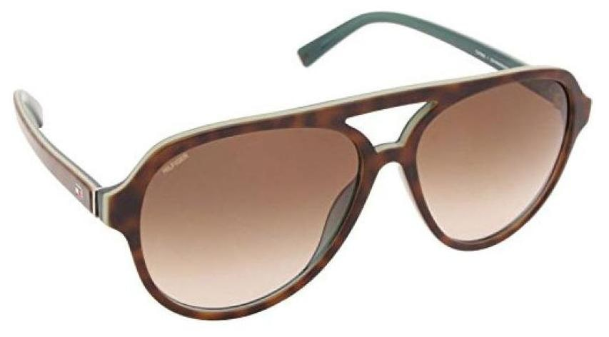 ce48a33dc2ac Buy Tommy Hilfiger Gradient Aviator Men's Sunglasses - (7952 Hav/Blu C3 59 S |59|Grey Color) Online at Low Prices in India - Paytmmall.com