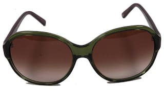 3b1d403d48e Buy Tommy Hilfiger Green Round Frame Sunglass Online at Low Prices ...