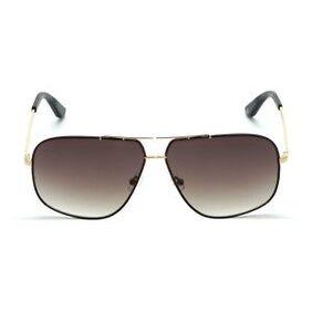 TOMMY HILFIGER TH2546 C2 62 MM GOLD WITH BROWN MEN SQUARE Sunglasses