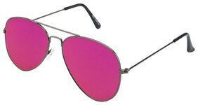V-Smart Pink Aviator Sunglass
