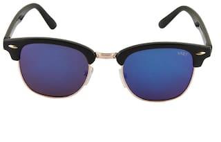 cf540ab234 Clubmaster High Fashion Unisex Wayfarer Sunglasses   Glares   Shades (Blue