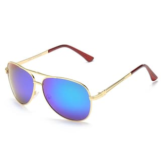 419eca9c284 Vast HD TAC Polarized Aviator Men Sunglasses (POLO 2054 BLUE MIRROR)