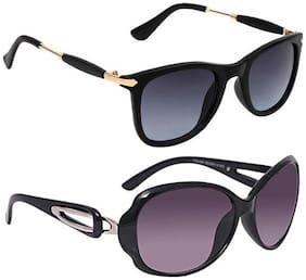 Vitoria Polarized lens & Mirrored lens Oval Frame Sunglasses for Women