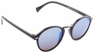 Xforia Polarized lens Round Frame Sunglasses for Men
