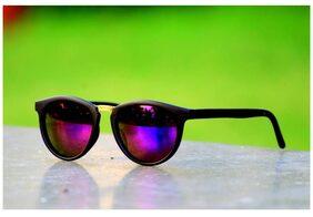Xforia Blue mercury Round Sunglasses for Men Women