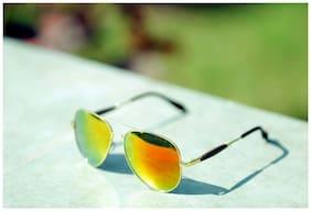 Xforia Men Mirrored lens Aviators - Pack of 1