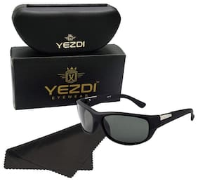 Yezdi Black Men's Wrap Around