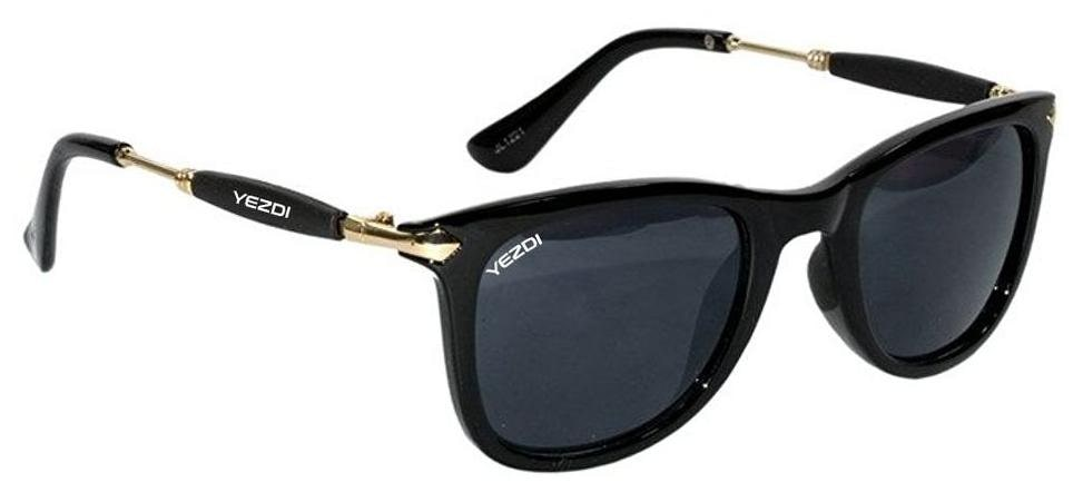 388562d106 https   assetscdn1.paytm.com images catalog product . Yezdi Black Wayfarer  Unisex Sunglass with UV 400 Lens
