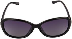 ZOOMY Polarized lens Oval Frame Sunglasses for Women
