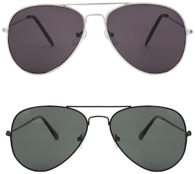 Zyaden Regular lens Aviator Sunglasses for Men , 2
