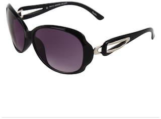 Zyaden Polarized lens Oval Frame Sunglasses for Women