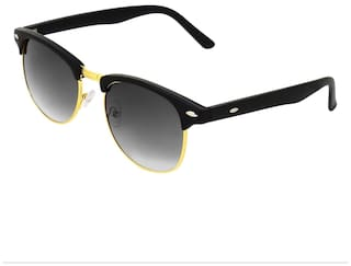 99f68ae0335 Buy Zyaden Black ClubMaster Sunglasses 3 Online at Low Prices in ...