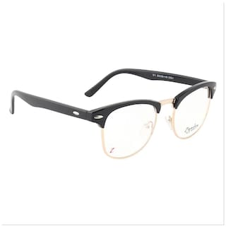 2fbb4594eb Buy Zyaden Black Clubmaster Eyeglasses Online at Low Prices in India ...